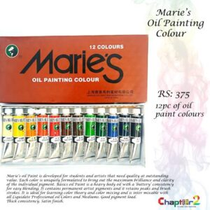 Maries Oil Painting Colour
