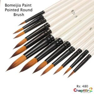 Bomeijia Paint Pointed Round Brush
